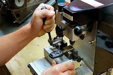 Laser key cutting