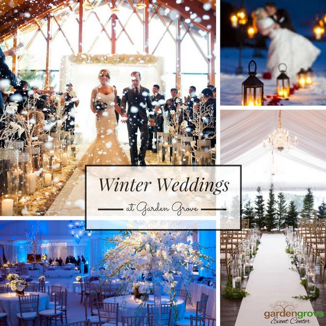Winter Weddings at Garden Grove