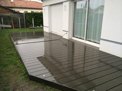 terrasse composite gris sylvadec bordeaux terrasse bois