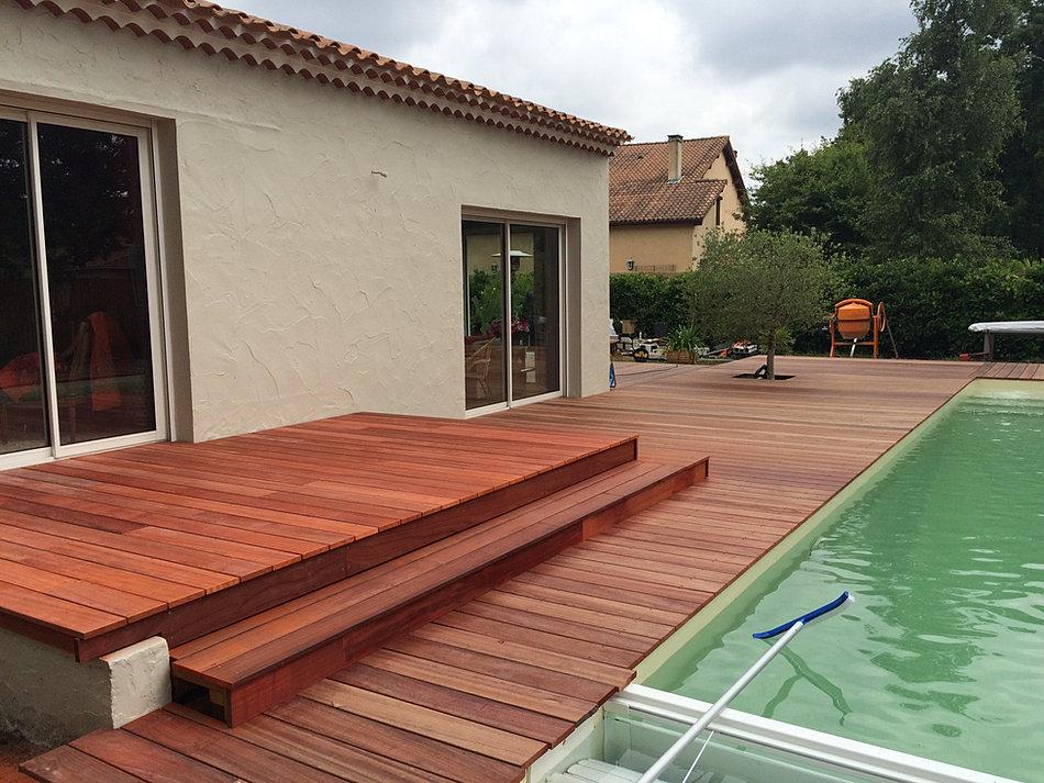 Constructeur de terrasse bois a bordeaux et gironde for Constructeur bordeaux