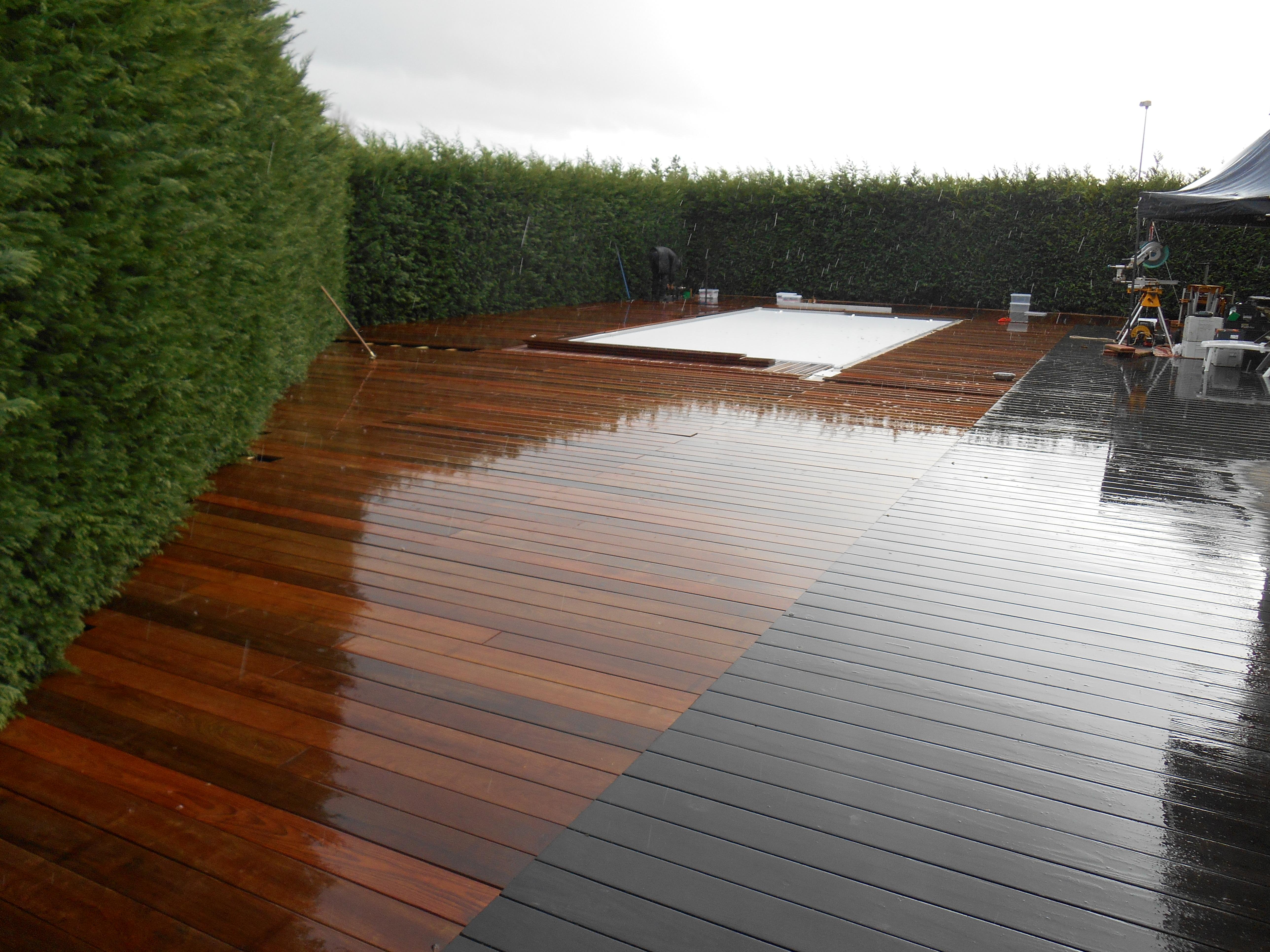 terrasse ipe carbnon blanc terrasse bois et composite