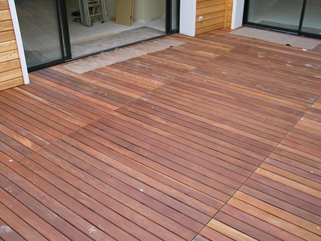 terrasse ipe fixation invisible talence