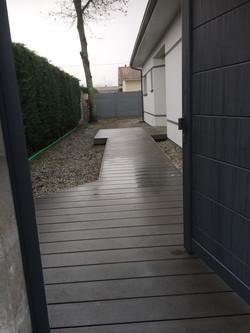 terrasse en composite sylvadec bordeaux terrasse bois composite gris
