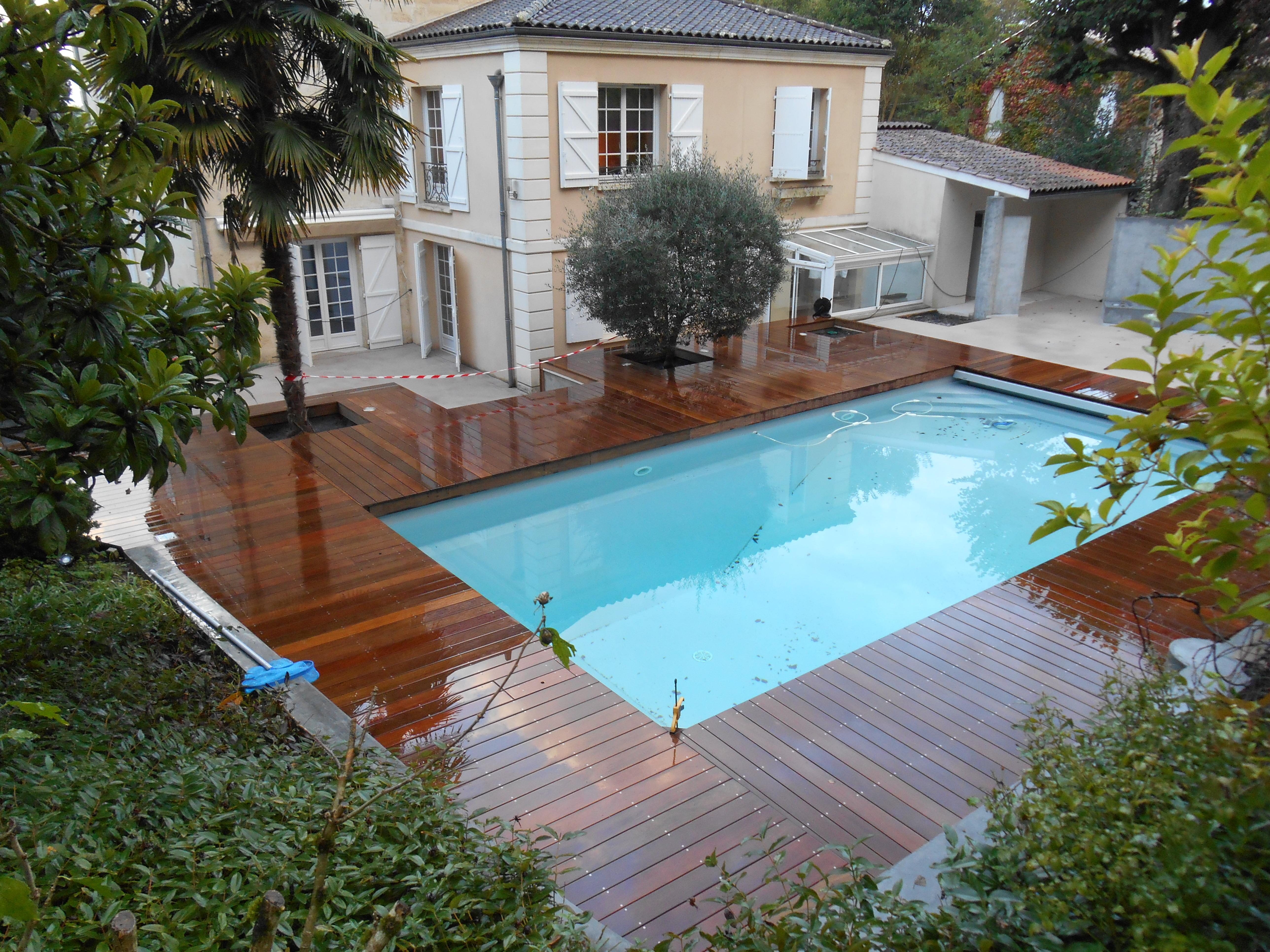 terrasse ipe tour de piscine bordeaux terrasse bois et composite