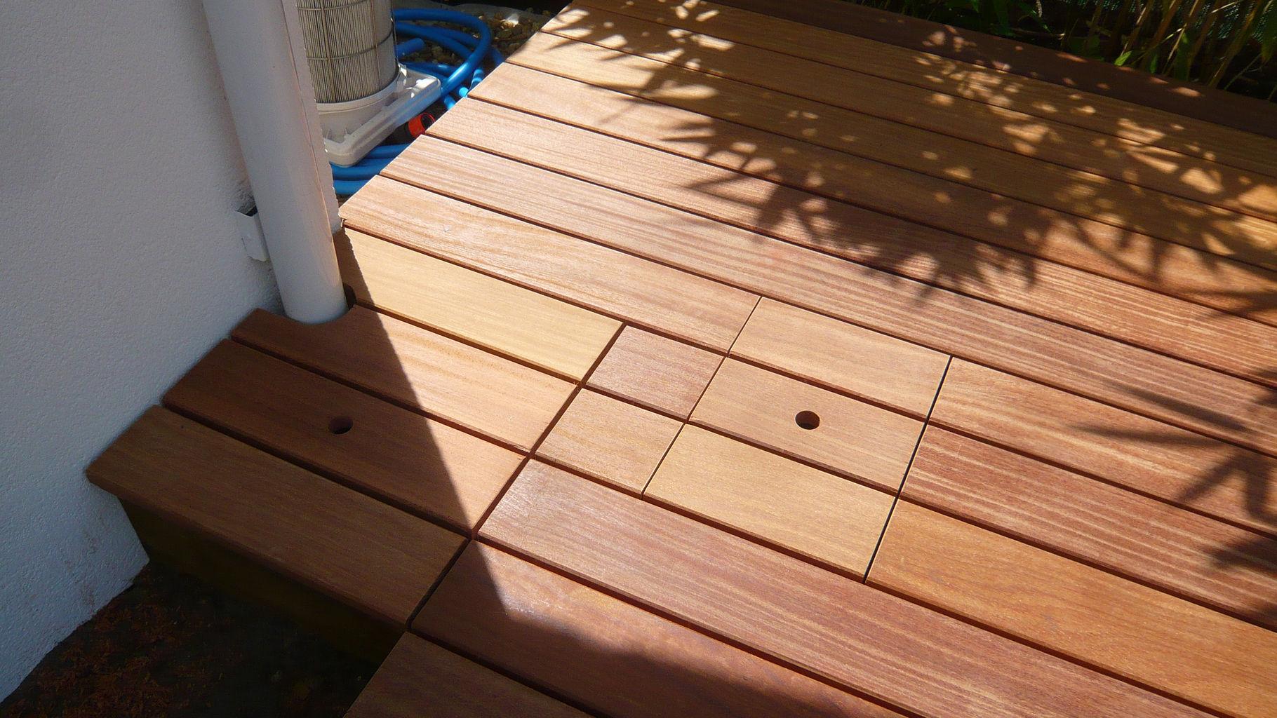 comment installer une terrasse en bois composite diverses id es de conception de. Black Bedroom Furniture Sets. Home Design Ideas