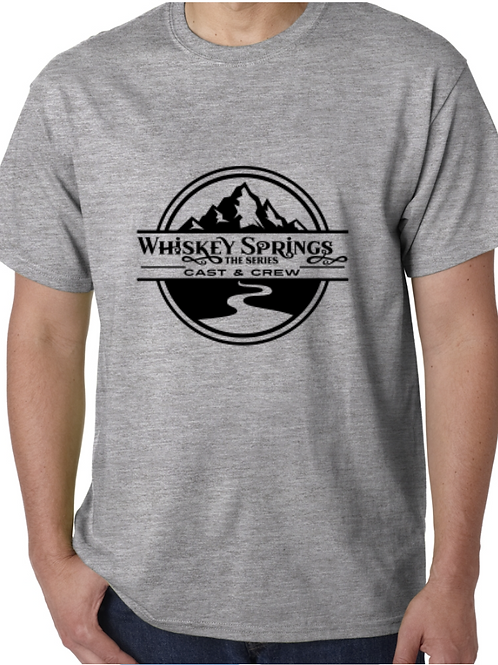 Whiskey Springs Cast and Crew Tee