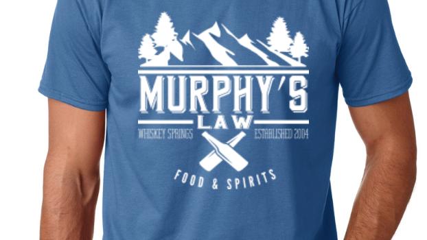 Indigo Murphy's Law Tee