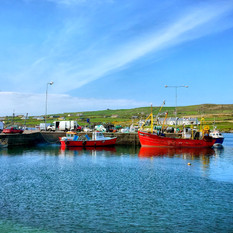BOATS IN PORTMAGEE