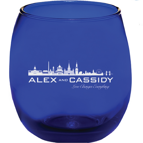Alex and Cassidy Wine/Whiskey Glass