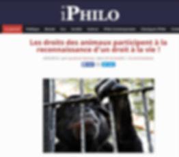 Droits des animaux philo