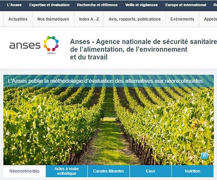 Website ANSES