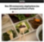 Restaurants végétariens à Paris