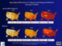 Prévalence obésité et diabète aux USA