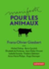 Manifeste pour les animaux de Franz-Olivier Giesbert