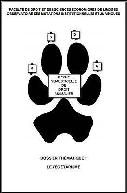 Revue droit animalier Végétarisme