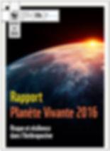 Rapport Planète Vivante 2016 du WWF