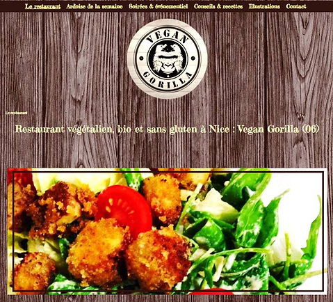 Restaurant Vegan Gorilla à Nice