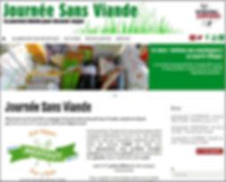 Site Journée sans viande JSV Meat Out Day