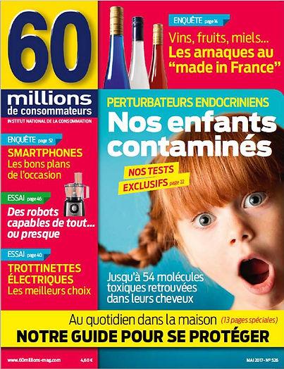 Nos enfants contaminés 60 millions de consommateurs