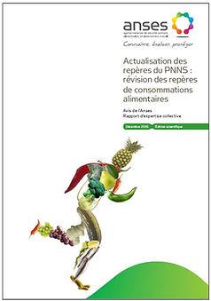 Actualisation des repères du PNNS (révision des repères de consommations alimentaires) par l'ANSES en 2016