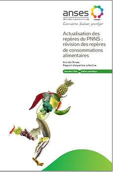 Actualisation repères consommations alimentaires ANSES 2016