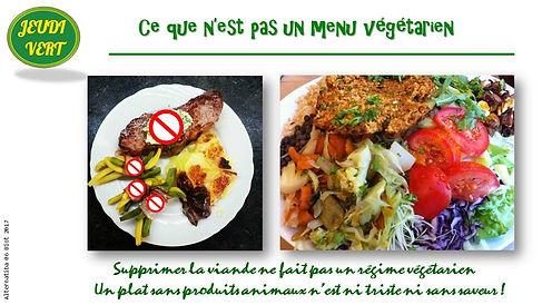 Variété et équilibre régime végétarien