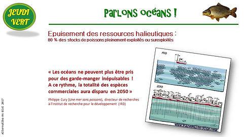 Surpêche, épuisement des ressources halieutiques