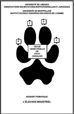 Revue droit animalier Elevage industriel