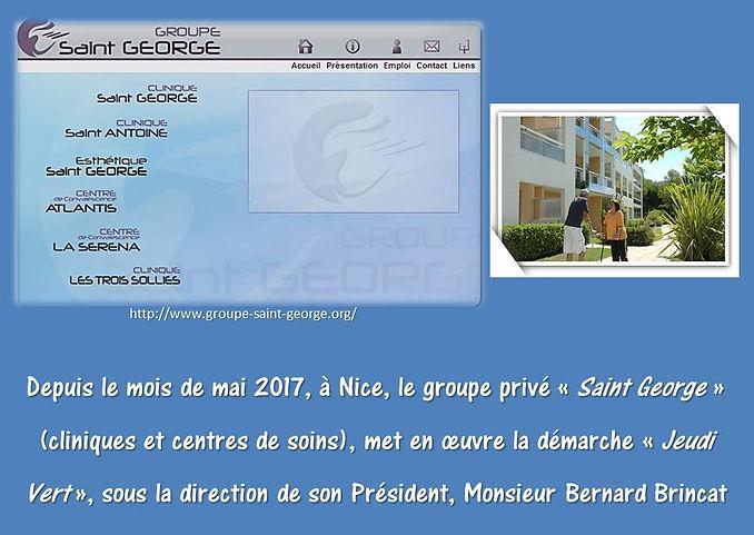 Groupe Saint George à Nice