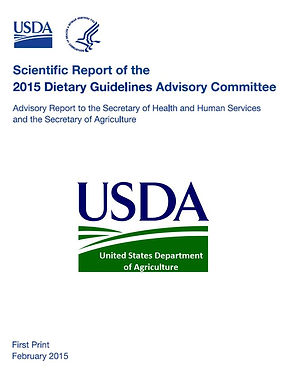 Scientific Report of the 2015 Dietary Guidelines