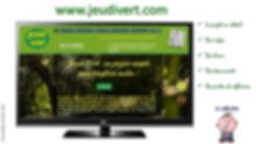 Site Internet Jeudi Vert