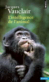 Livre L'intelligence de l'animal de Jacques Vauclair
