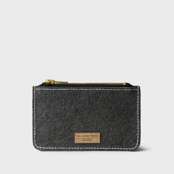Single Zip Coin Wallet