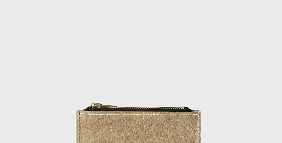 LANE Double Zip Coin Purse