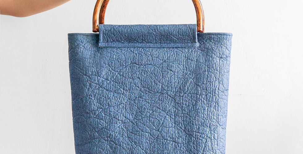 CARI Handle Detail Tote