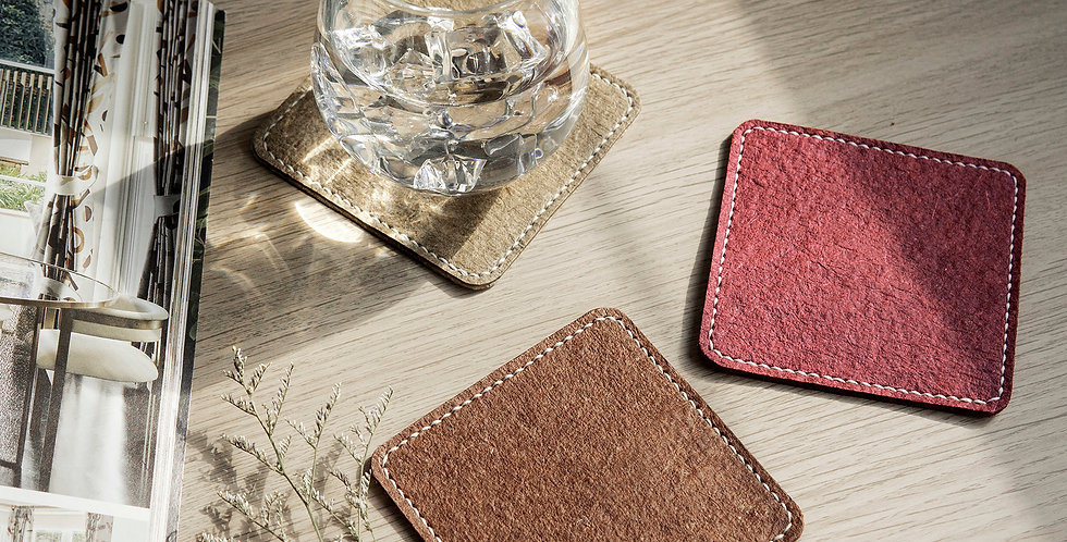 Double Sided Coasters - Set of 4
