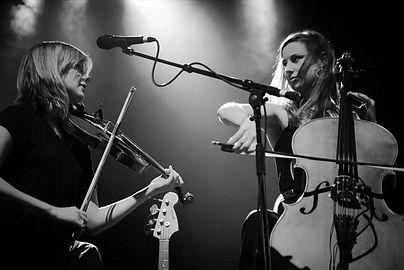 Violinist Anna Jenkins