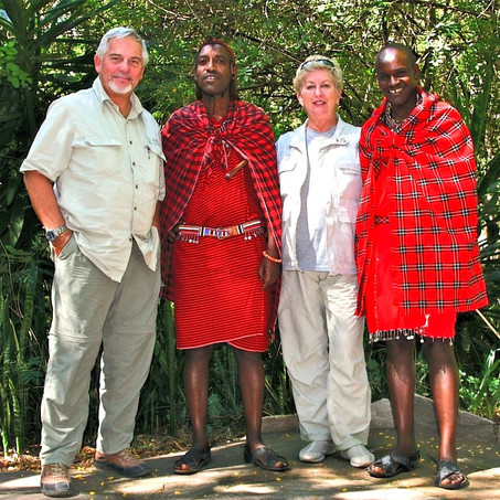 When We Met The Maasai