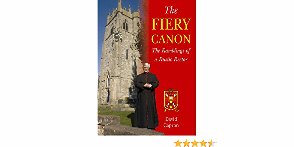 """Speaker Meeting - Canon David Capron, """"The Puffing Parson"""""""