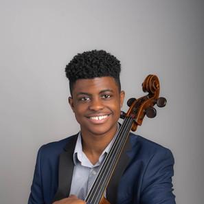 2nd Runner Up: Sterling Elliott - cello
