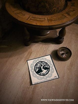 "TREE OF LIFE Small Sticker 3"" x 3"""
