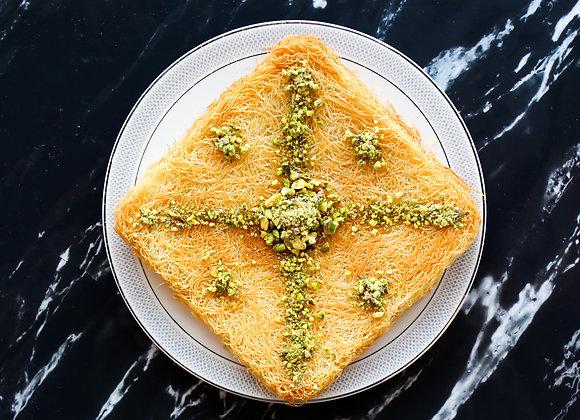 Konafa with cheese