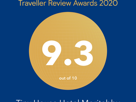 Won the 2020 Booking.com Traveler Review Award