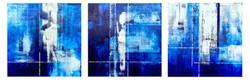 Blue Triptych commission