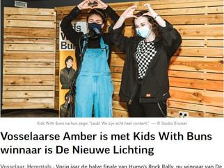 Amber Piddington (ret. 2019) winnaar van De Nieuwe Lichting