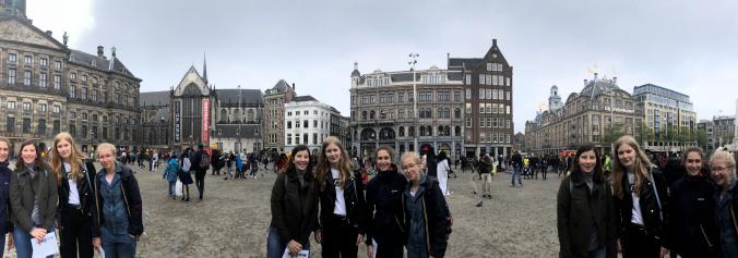 Vierdejaars naar Amsterdam