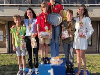 Belgisch kampioen cadetzeilen