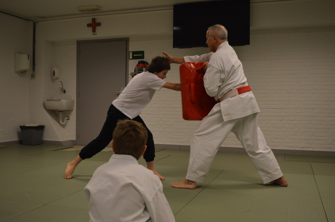 Karate voor afdeling B