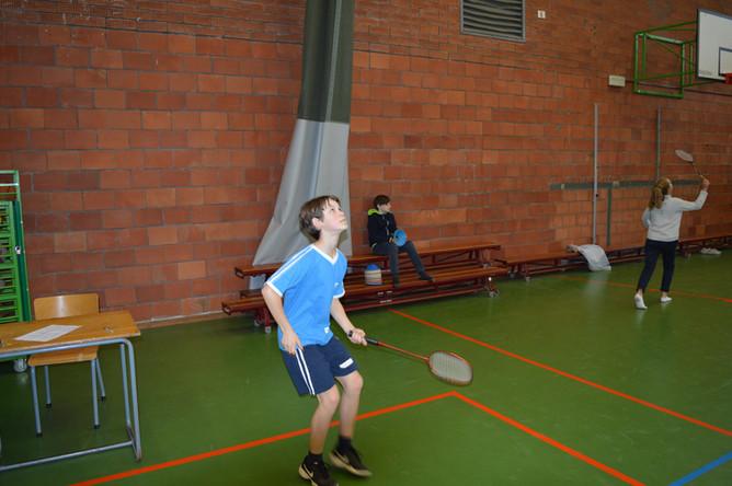 KC badminton 1ste graad