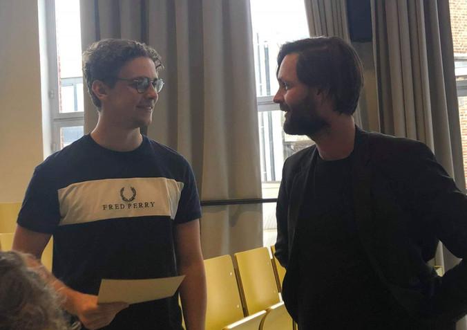 Leander Huyghe winnaar Jonge Filosofische Pen